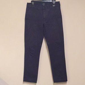 J Crew Sutton Navy Slim Fit Pants